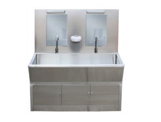 云南C10全不锈钢Ⅱ型感应洗手池